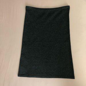 CABI Gray Sweater Skirt